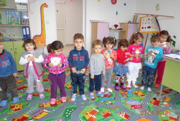 cadeau voor Roemeense kleuterschool