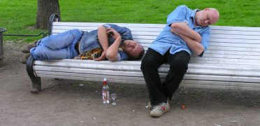 alcoholist in Siberië